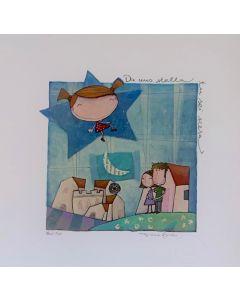Tiziana Biuso, Da una stella tu sei scesa, Retouchè, 30x30 cm