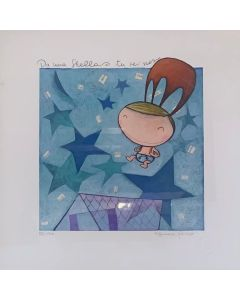 Tiziana Biuso, Da una stella sei sceso tu, Retouchè, 30x30 cm
