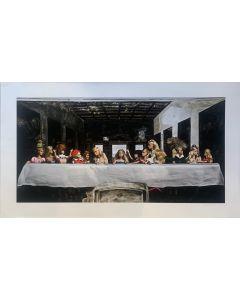 Marzia Ferrone, The Last Dinner, grafica Fine Art, 110x60 cm