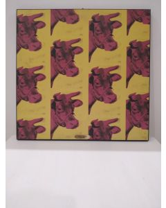 Cow (Andy Warhol), stampa su pannello, 48x47 cm