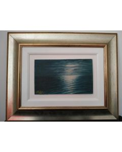 Fausto Spinelli, Trieste, olio su tavola, 40x50 cm (con cornice)