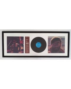 Lucio Dalla, vinile incorniciato, 49x125 cm