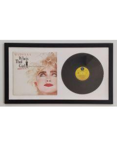 Madonna, Who's that girl, vinile incorniciato, 43x139 cm