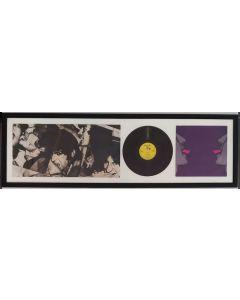 The Rolling Stones, Love You Live, vinile incorniciato, 43x139 cm
