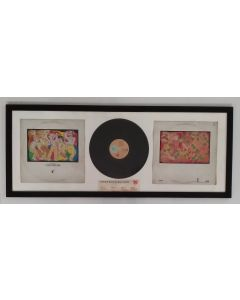 Frankie goes to Hollywood, vinile incorniciato, 46x112 cm