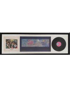 Frankie goes to Hollywood, vinile incorniciato, 46x140 cm