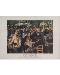 Pierre-Auguste Renoir, Le Bal au moulin de la Galette, poster, 80x60 cm