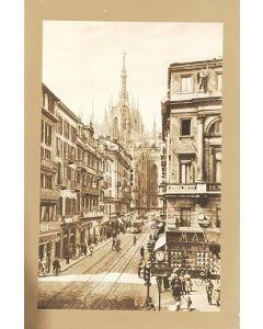 Scorcio del Duomo, stampa, 31x46 cm