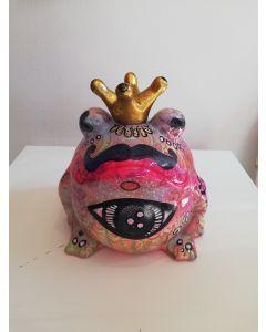 Nik Baeyens, Rana, ceramica, 26x24x23 cm
