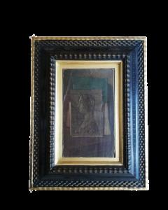 Anonimo, Ritratto di dama, olio su tavola, 46x35,5 cm