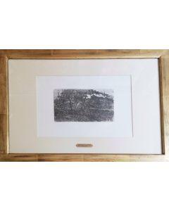 Giovanni Fattori, Senza titolo, acquaforte, 13x21 cm (44,5x59 cm con cornice)