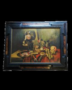 Anonimo, Natura Morta, olio su tela, 70x90 cm