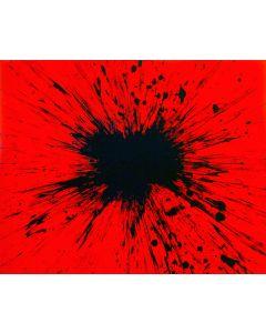 Julian T, Rubedo, acrilico su tela, 100x80 cm, 2015