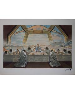 Salvador Dalì, La Cène, litografia, 58x80 cm, 1988