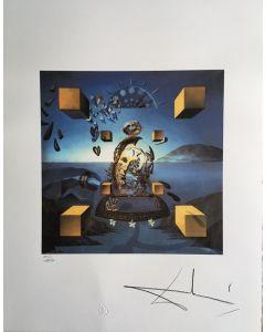 Salvador Dalì, La creazione di Galatea, Litografia, 50x65 cm, 1988