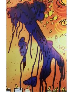 La Pupazza, L'Italia di vernice, grafica su PVC, 31X47 cm