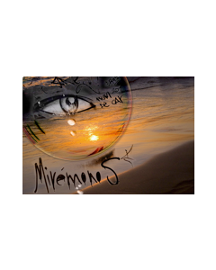 Norma Picciotto, Lacrime di rugiada, fotografia con elaborazione digitale, 30x40 cm