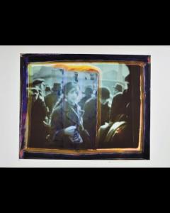 Maurizio Galimberti, Lissy Asser, Pigmenti su cartoncino cotone gr 520, 100x70 cm