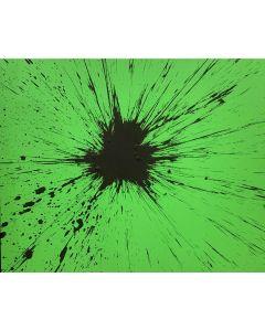 Julian T, Viriditas, acrilico su tela, 100x80 cm, 2013