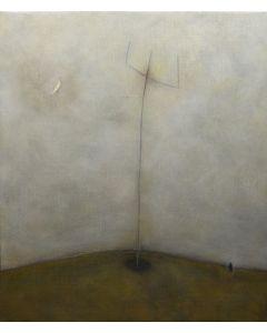 Luca Bonfanti, Trinità, acrilico su tela, 70x60 cm, 2015