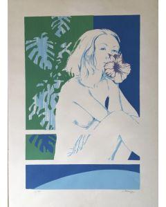 Luciano Primavera, Senza titolo, Litografia, 50x70 cm, 23 su 118