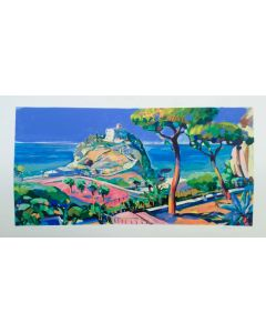 Claudio Malacarne, Tropea, retouché, 60x120 cm