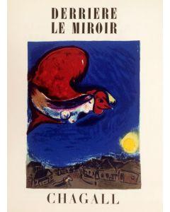 Marc Chagall, Copertina rivista Derriere le Miroir, n. 27-28 anno 1950, 38x28 cm