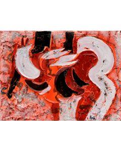 Andrea Marchesini, Illuminazione, tecnica mista, 30x40 cm