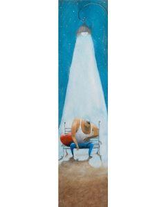 Diego Santini, Ancora 3 minuti, Giclée art print ritoccata a mano, 16x56  cm