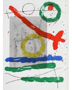 Joan Mirò, Cartons pg.22, litografia, 28x38 cm, 1965