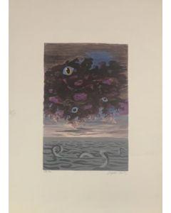 Mostro Marino, serigrafia, 50x70 cm