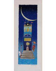 Meloniski da Villacidro, Sonatina a Venezia, retouché, 25x60 cm