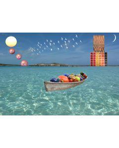 Norma Picciotto, Il frutto delle fatiche, fotografia con elaborazione digitale, 30x40 cm