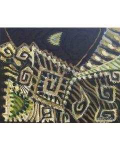 Cannaò, Notturno, olio su tela, 24x30 cm, 2007