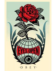 Obey, Eyes Open, serigrafia, 90x61 cm
