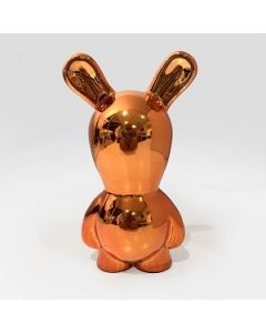 Paolo Pastorino, Osvaldo Jr (arancio), ceramica, 11x8x20 h