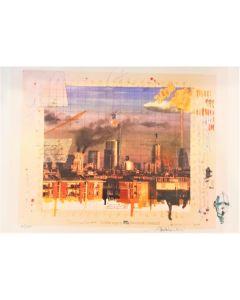 Enrico Pambianchi, Il cielo sopra Milano, stampa limited edition, 30x42 cm