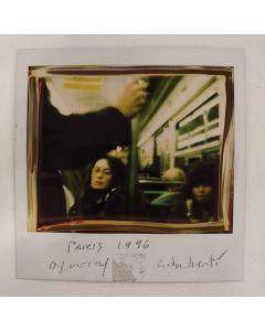 Maurizio Galimberti, Paris 1996, Polaroid, 10x10,5 cm