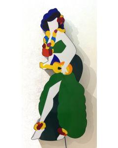 Marco Lodola, Pin Up, scatola (scultura) luminosa, 122x23x12cm