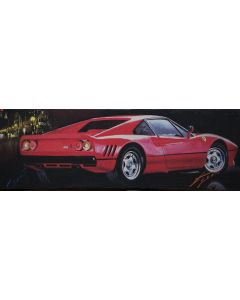 Pisati da Milano, Ferrari, retouché, 60x20 cm