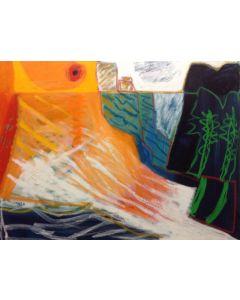 Togo, Ricordo d'estate, olio e acrilico su tela, 60x80 cm, 2011