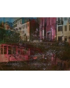 Loris di Falco, Ripa, tecnica mista, 20x26 cm