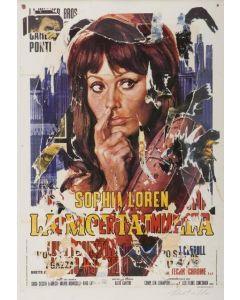 Mimmo Rotella, La Mortadella, seridécollage, 70x100 cm