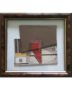 Primo Formenti, Racconto,Tecnica mista su tela, 21x19 cm