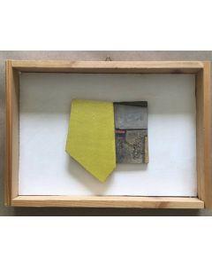 Primo Formenti, Racconto, tecnica mista su tela, 27x19 cm
