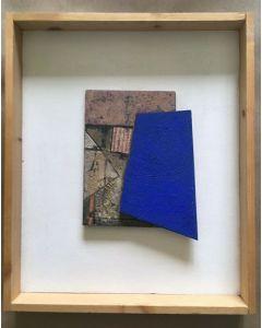 Primo Formenti, Racconto, tecnica mista su tela, 29x35 cm