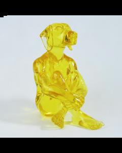 Gillie and Marc, Lolly Dogman, resina trasparente, 35x28x20 cm
