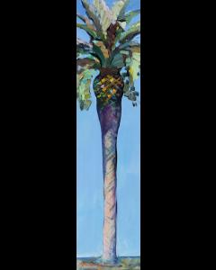 Claudio Malacarne, Palma, olio su tela, 25x100 cm