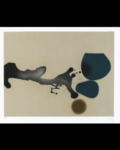 Victor Pasmore, Punto di Contatto 2, Acquaforte e acquatinta, 105x75 cm, 1982