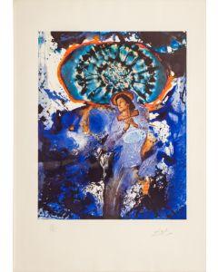 Salvador Dalì, Ultra - Surrealistic Corpuscular Galutska, litografia, 52,5x41,5 cm